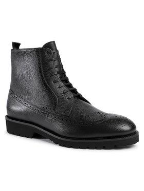 Boss Boss Kotníková obuv Edenlug 50439770 10216136 01 Černá