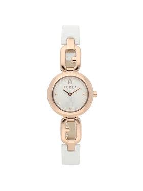 Furla Furla Zegarek Arco Chain WW00015-VIT000-01B00-1-008-20-CN-W Biały
