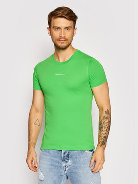 Calvin Klein Jeans Calvin Klein Jeans T-shirt J30J318067 Vert Slim Fit