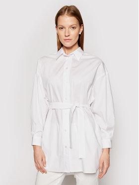 Marella Marella Marškiniai Cecco 31910415 Balta Regular Fit