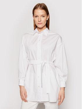 Marella Marella Риза Cecco 31910415 Бял Regular Fit