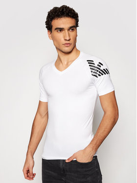 Emporio Armani Underwear Emporio Armani Underwear Póló 111760 1P725 00010 Fehér Regular Fit