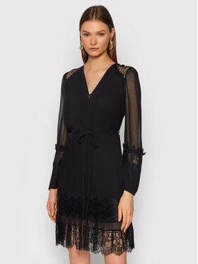 TWINSET TWINSET Koktejlové šaty 212TT2392 Čierna Regular Fit