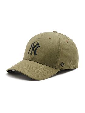 47 Brand 47 Brand Czapka z daszkiem New York Yankees Grid Lock B-GRDLM17RCP-XC Zielony