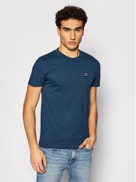 Pepe Jeans Pepe Jeans Marškinėliai Wallace PM507871 Tamsiai mėlyna Regular Fit