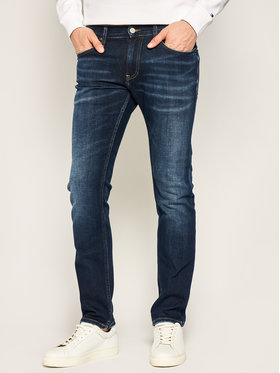 TOMMY HILFIGER TOMMY HILFIGER Jeansy Slim Fit Scanton Heritage DM0DM08017 Granatowy Slim Fit