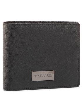 Trussardi Jeans Trussardi Jeans Nagyméretű férfi pénztárca Wallet Credit Card 71W00137 Fekete