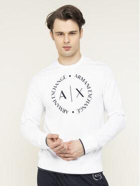 Armani Exchange Armani Exchange Sweatshirt 8NZM87 Z9N1Z 1100 Weiß Regular Fit