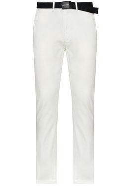 Calvin Klein Calvin Klein Чино панталони K10K106894 Бял Slim Fit