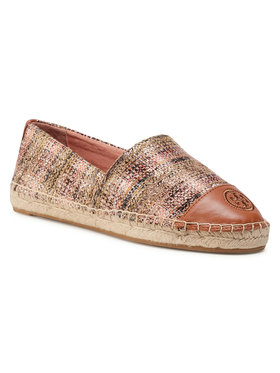 Tory Burch Tory Burch Espadrile Color Block Flat Espadrille 76257 Colorat