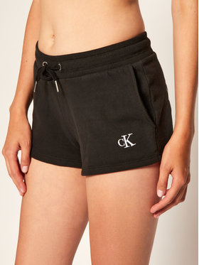 Calvin Klein Jeans Calvin Klein Jeans Pantaloni scurți sport J20J214177 Negru Regular Fit