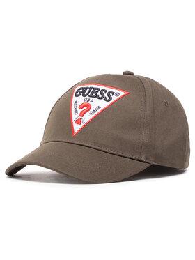 Guess Guess Șapcă Triangle Logo Cap M1RZ57 WBN60 Verde