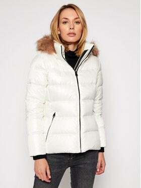 Calvin Klein Calvin Klein Pūkinė striukė Essential K20K202317 Balta Regular Fit