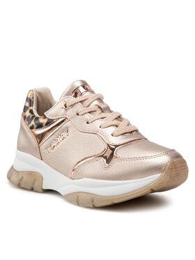 Tommy Hilfiger Tommy Hilfiger Sneakersy Low Cut Lace T3A4-31174-1243 S Złoty