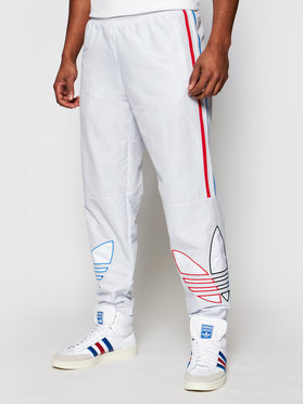 adidas adidas Pantalon jogging adicolor Track GN3573 Blanc Regular Fit