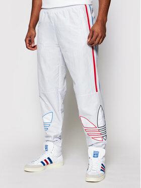 adidas adidas Teplákové nohavice adicolor Track GN3573 Biela Regular Fit