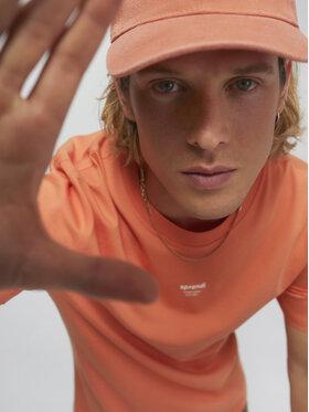Sprandi Sprandi T-shirt SS21-TSM009 Arancione Regular Fit