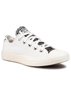 Converse Converse Plátěnky Ctas Ox 570312C Bílá