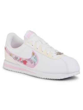 Nike Nike Pantofi Cortez Basic Sl Se (GS) CN8145 100 Alb