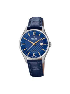 Festina Festina Laikrodis Swiss Made 20007/3 Tamsiai mėlyna