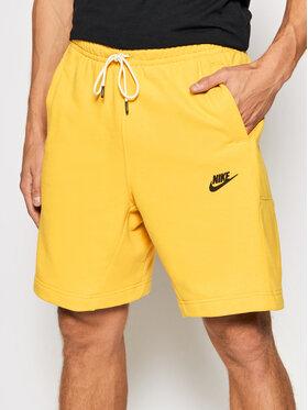 Nike Nike Спортни шорти Revival DA0688 Жълт Standard Fit