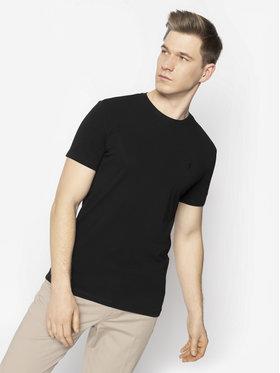 Trussardi Jeans Trussardi Jeans T-Shirt 52T00309 Černá Slim Fit