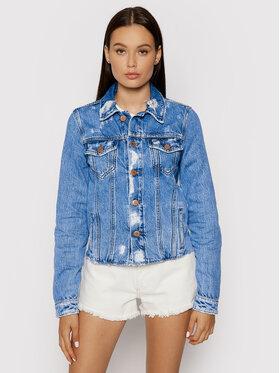 Tommy Jeans Tommy Jeans Džinsinė striukė Truck DW0DW10473 Mėlyna Regular Fit