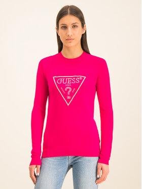 Guess Guess Svetr Naomi W01R92 Z2760 Růžová Regular Fit