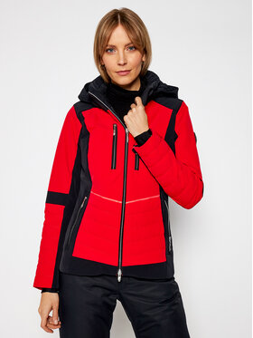 Descente Descente Kurtka narciarska Cicily DWWQGK09 Czerwony Regular Fit