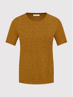 Marc O'Polo Marc O'Polo T-Shirt 107 2121 51189 Brązowy Regular Fit