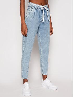 Calvin Klein Jeans Calvin Klein Jeans Džinsai J20J215861 Mėlyna Mom Fit