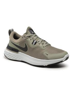 Nike Nike Boty React Miler CW1777 300 Zelená
