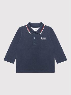 Boss Boss Polo marškinėliai J05880 Tamsiai mėlyna Regular Fit