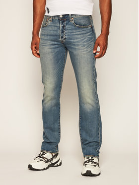 Levi's® Levi's® Regular Fit Jeans 501® Original Fit 00501-3058 Dunkelblau Regular Fit