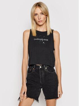Calvin Klein Jeans Calvin Klein Jeans Top J20J215622 Crna Regular Fit
