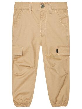 NAME IT NAME IT Spodnie materiałowe Nmmbob 13185534 Brązowy Regular Fit