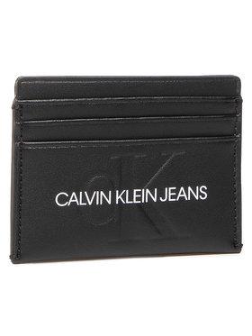 Calvin Klein Jeans Calvin Klein Jeans Pouzdro na kreditní karty Cardcase 6Cc K60K607230 Černá