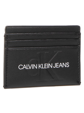 Calvin Klein Jeans Calvin Klein Jeans Puzdro na kreditné karty Cardcase 6Cc K60K607230 Čierna