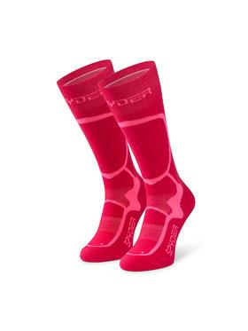 Spyder Spyder Κάλτσες Ψηλές Γυναικείες Pro Liner 198081 Ροζ