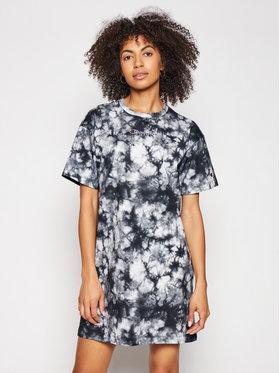 Champion Champion Každodenní šaty Tie Dye Digital Print 113942 Černá Custom Fit