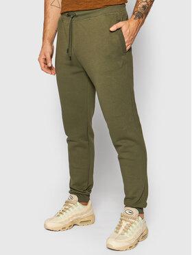 Guess Guess Teplákové kalhoty U1YA04 K9V31 Zelená Regular Fit