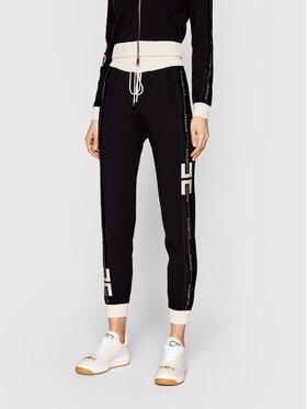 Elisabetta Franchi Elisabetta Franchi Pantalon jogging KP-18S-11E2-V300 Noir Regular Fit