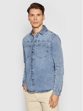 Only & Sons Only & Sons Kurtka jeansowa Lucas 22020507 Niebieski Regular Fit