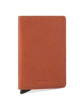 Secrid Secrid Malá pánská peněženka Slimwallet SVG Hnědá