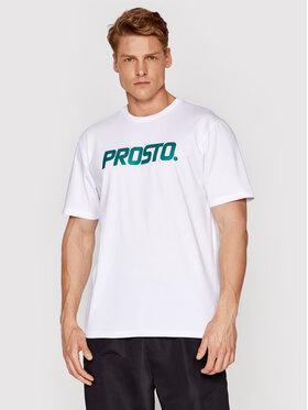 PROSTO. PROSTO. Marškinėliai KLASYK KlasXXI 1136 Balta Regular Fit