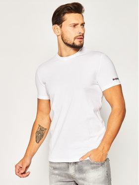 Dsquared2 Underwear Dsquared2 Underwear T-Shirt D9M202990 Weiß Regular Fit