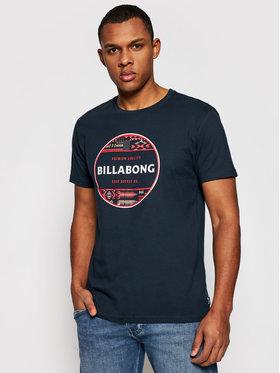 Billabong Billabong T-Shirt Rotor Fill U1SS63BIF0 Tmavomodrá Regular Fit