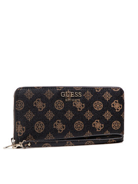 Guess Guess Portefeuille femme grand format Vikky (PQ) Slg SWPQ69 95460 Marron