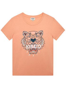 Kenzo Kids Kenzo Kids T-Shirt K15079 D Różowy Regular Fit