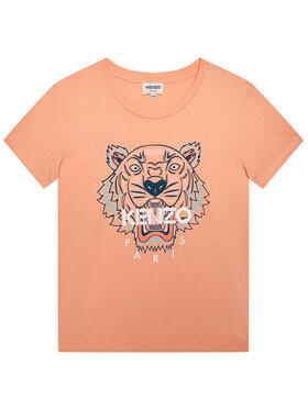 Kenzo Kids Kenzo Kids Тишърт K15079 D Розов Regular Fit